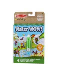 Water Wow Wasser Malbuch Jahreszeiten