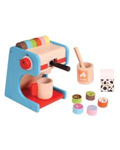 njoykids Kaffeemaschine Spielzeug aus Holz