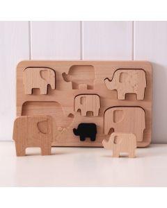 Bajo Elefanten Einlegepuzzle