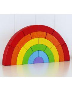 BAJO Regenbogen Bausteine 21 Teile