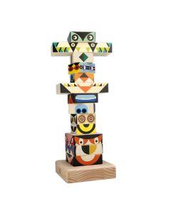 BAJO Totem Holz-Steckturm für Kinder