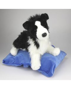 Stofftier Border Collie Welpe