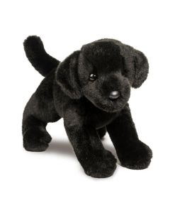 schwarzer Plüschtier Labrador-Welpe