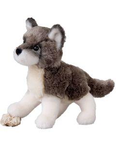 kleiner Plüsch-Wolfswelpe