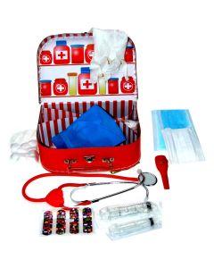 Kinder-Doktorkoffer mit echtem Stethoskop