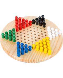 Halma Brettspiel aus Holz