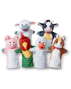 Handpuppen Bauernhoftiere 6er Set