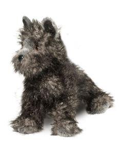 Hazel Cairn Terrier Kuscheltier Hund schwarz-grau 35 cm lang