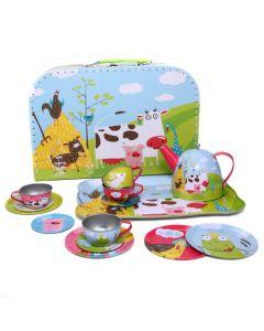 Teeservice für Kinder mit Koffer
