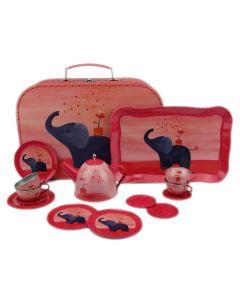 "Egmont Toys Metall-Puppengeschirr ""Elefant"" im Koffer"