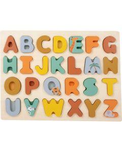 Safari Holzpuzzle ABC