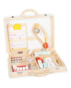 Arzt- und Zahnarzt Spielkoffer aus Holz