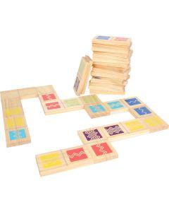 Dominospiel im Großformat