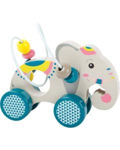 Schiebetier Elefant mit Motorikschleife