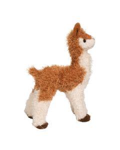 kleines Plüsch-Lama in naturgetreuen Design