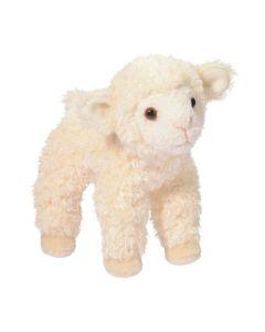 Wollweißes kleines Plüschter Schaf
