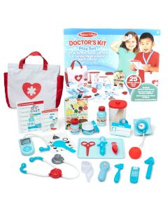 Arzt-Spielzeug-Set mit Arzttasche und realistischem Zubehör