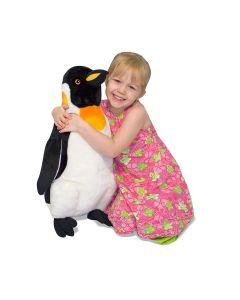 großer Plüsch-Pinguin