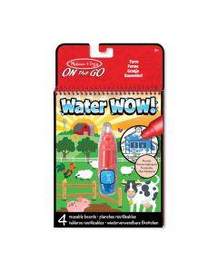 Wassermalbuch Bauernhof