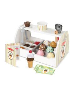 Spielzeug-Eistheke mit Zubehör