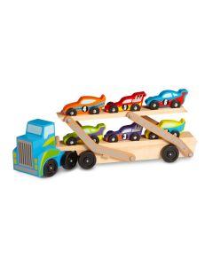 Spielzeug-LKW aus Holz