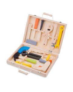 Holzspielzeug-Werkzeugkoffer