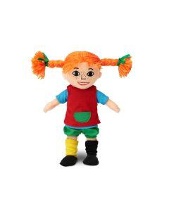 kleine Pippi  Langstrumpf Stoffpuppe