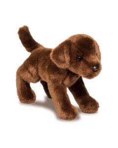 schokobrauner Plüschtier-Labradorwelpe