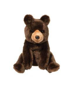 """Kuscheltier Bär """"Cal"""" braun sitzend 25 cm"""