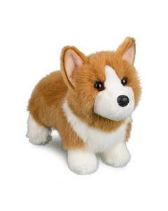 """Corgie """"Louie"""" Kuscheltier Hund weiß-gold  27 cm"""