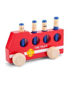 Steckspiel Pop Up Feuerwehrauto