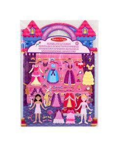 Mädchen Kreativset Prinzessinnen Sticker