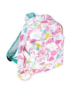 Kinderrucksack mit Flamingo-Muster
