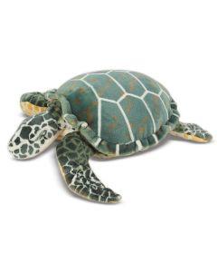 Große Plüsch-Schildkröte, auch als Dekokissen