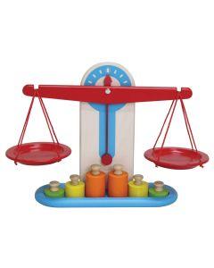 Santoys Spielzeug-Waage aus Holz