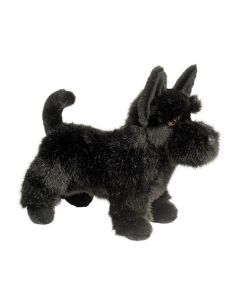 Scottish Terrier als Plüschhund in Schwarz