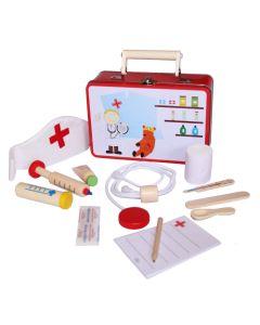 Spielkoffer mit Arztutensilien