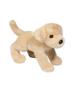 """Labrador """"Spankie"""" Kuscheltier gelb beige 26 cm lang"""