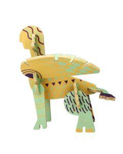 """3D Holz Steckpuzzle """"Spinx"""" von BAJO"""