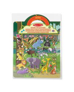 Sticker Spielset Dschungeltiere