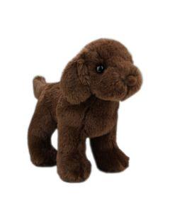 Mini Labbi Kuscheltier Hund in Braun