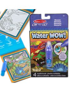 Water Wow Malbuch Dinosaurier