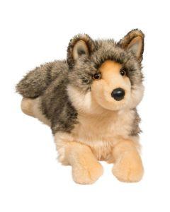 """Wolf """"Alder"""" Kuscheltier liegend 38 cm groß"""