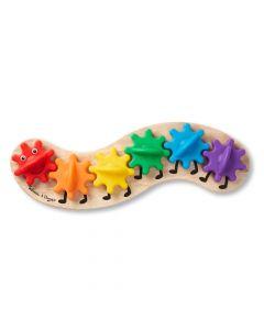 Zahnradspiel Regenbogenraupe